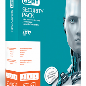 ESET Security Pack - 3 PC + 3 Mobile - nowa licencja