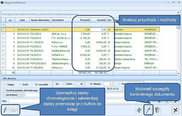 Pakiet Comarch ERP Optima Doradca Podatkowy START - ekran czwarty