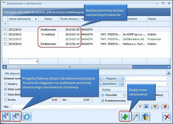 Pakiet Comarch ERP Optima START Firma - ekran czwarty