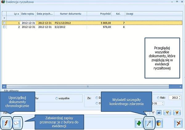 Pakiet Comarch ERP Optima START Mała Firma - ekran pierwszy