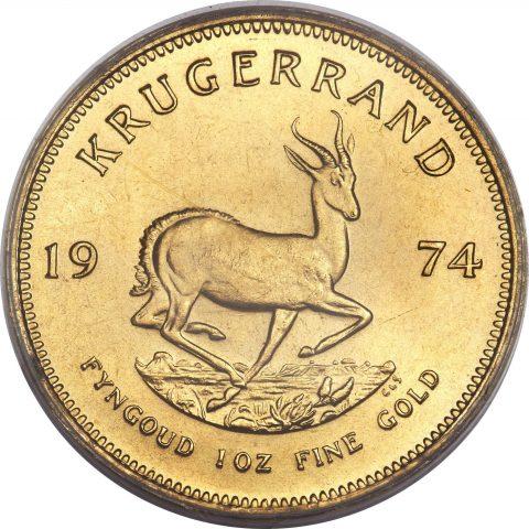 Moneta warta sztabkę złota – poznaj krugerrand
