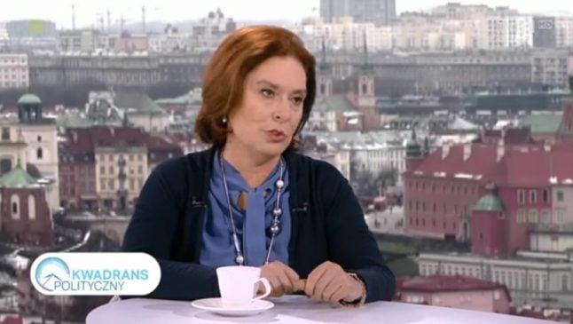Kidawa-Błońska zapowiedziała, że po raz ostatni wystąpiła w TVP